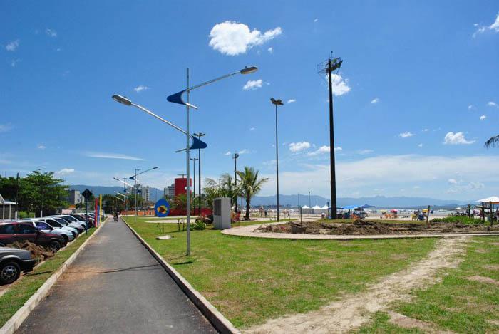 Poste Galavanizado Praça